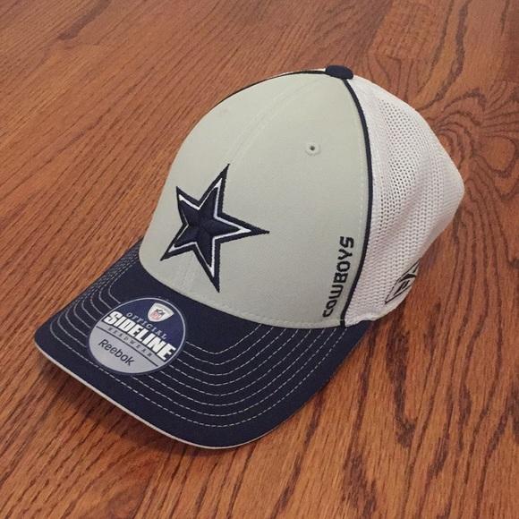 80c670e1d Official Sideline Dallas Cowboys Mesh Cap